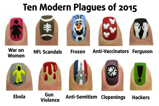 Ten Modern Plagues of 2015