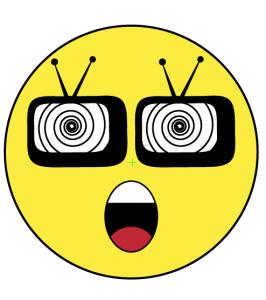 Bingewatching Emoji Clipart Icon