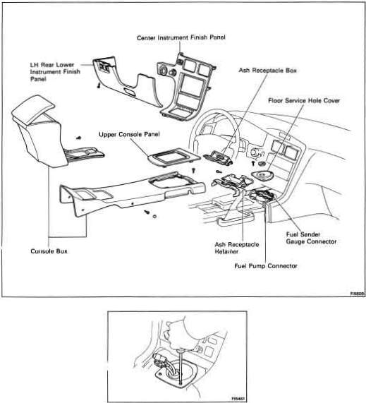 How To Replace The Fuel Pump Midship Runabout. Here's The Actual Parts For Tank Removal. Toyota. 85 Toyota Mr2 Fuel Diagram At Scoala.co