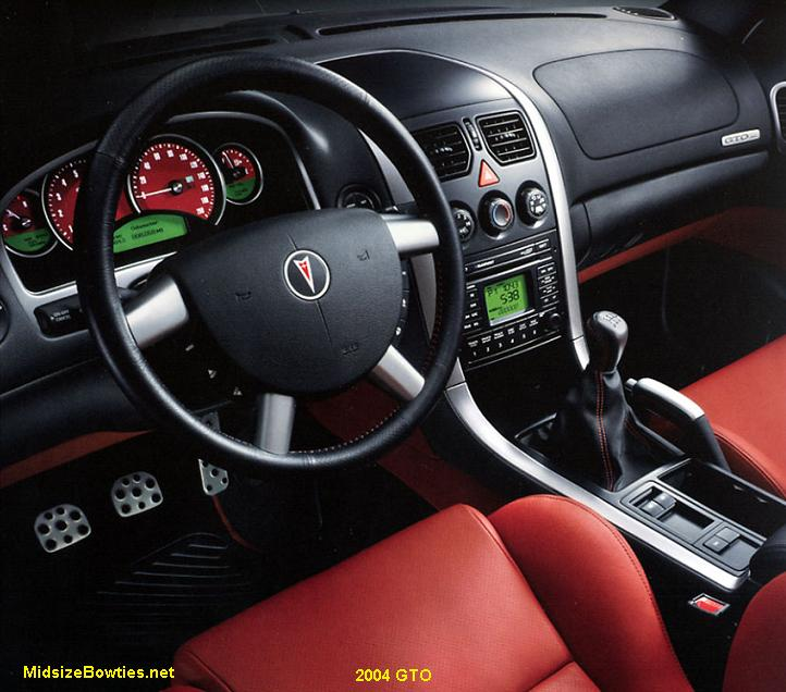 2006 pontiac gto interior parts