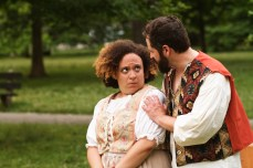 Sonia Goldberg as Colin and Adam Habben as Touchstone