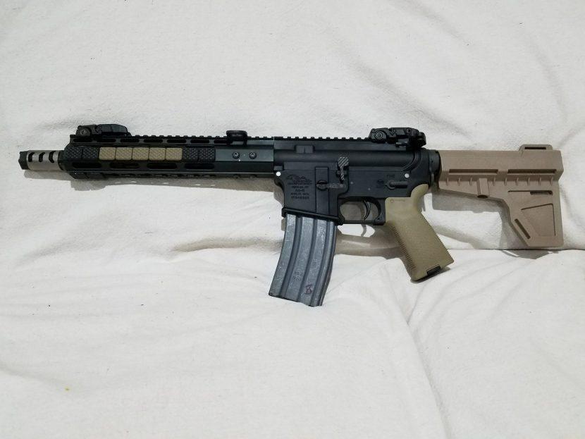 Building an AR-15 Pistol vs  Short Barreled Rifle (SBR