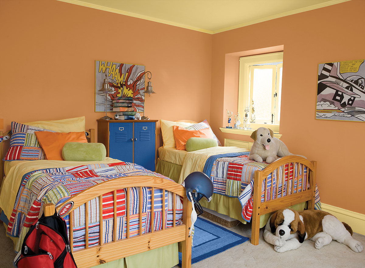 The 4 Best Paint Colors For Kids' Rooms