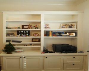 Credenza w/ bookcase