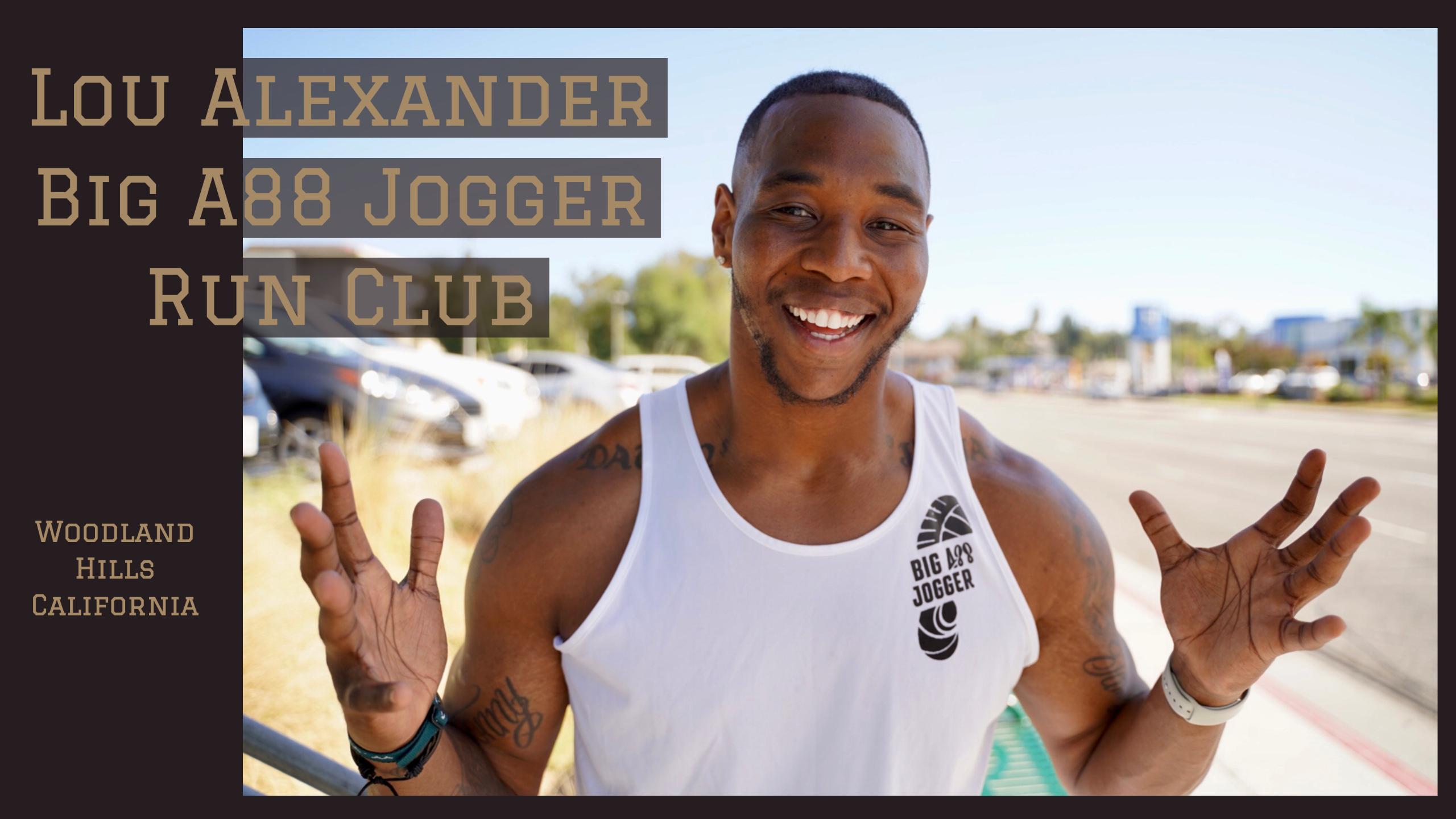 The Big A88 Jogger Lou Alexander