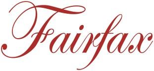 Fairfax logo red on white background pms 7626