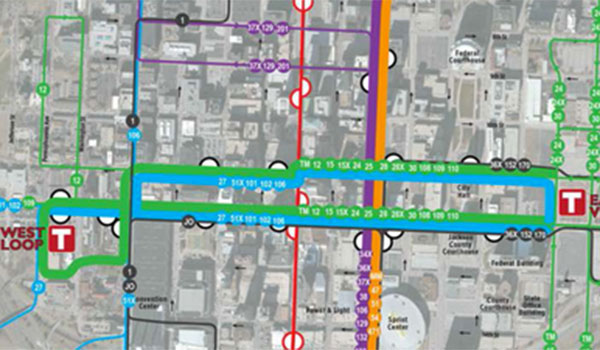 Meetings today to create downtown transit vision