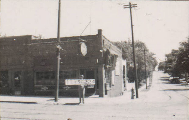 The Jimmy's Jigger building in 1940