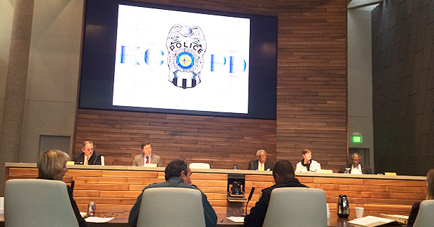 The Board of Police Commissioners got a report on the proposed gun court yesterday.