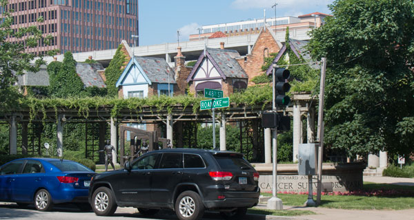 The buildings at 4728-4734 Summit, just behind the Bloch Cancer Survivors Park, have been granted pre-demolition permits.