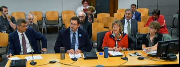 A panel briefed the city council on streetcar progress.