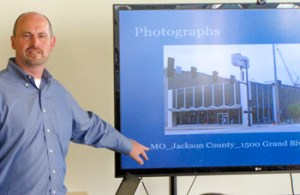 Brad Wolfe of the City's Historic Preservation Department explained the survey.