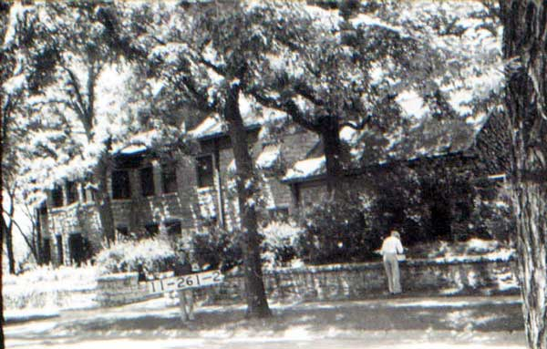 The Kirkwood home in 1940. Courtesy Kansas City Public Library - Missouri Valley Special Collections.