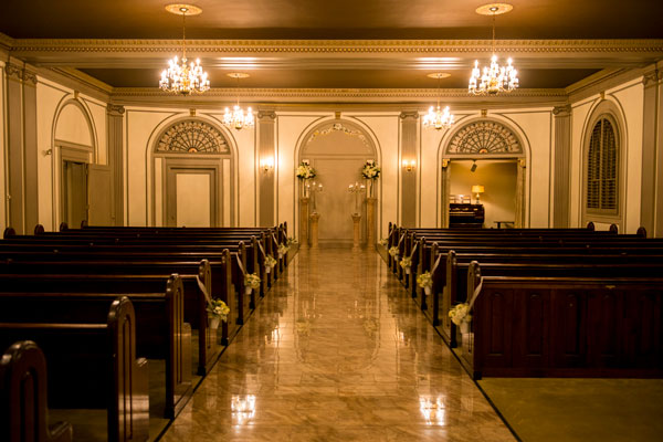The wedding chapel at the DeLeon.