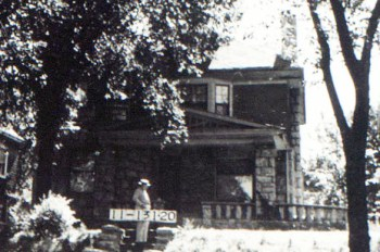 Adelbert P. Nichols, president of A.P. Nichols Investment Company, lived in this home at the corner of Pennsylvania and 38th Street in 1920. His wife Laura taught school before they got married and his son A.P. Nichols Jr. built Westport Shopping Center.