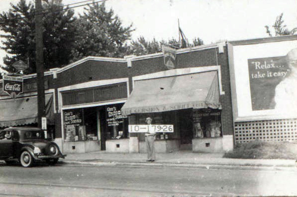 The Gershon & Schiff Meat Market at 4215 Troost was a convenient shop for local residents.