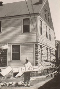 The Dunn home in 1940.
