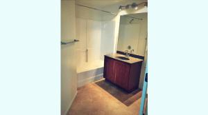 Updated apartment bathroom