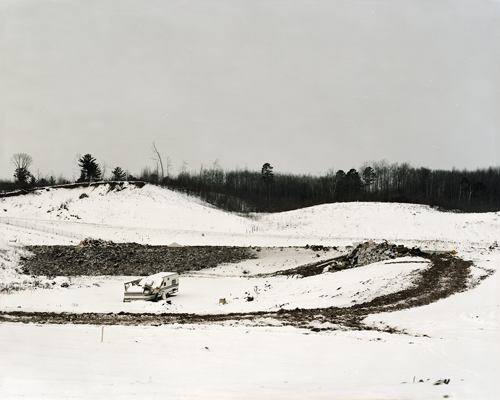 Gina Dabrowski, Cell #4, Crow Wing County Sanitary Landfill, 2010. C-Print. 30 x 37 ½ inches.