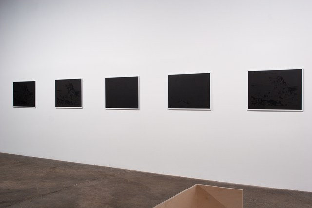 Willem Oorbeek, The Towers of Babel: Blackout, 2006. Five lithographs mounted on dibond.