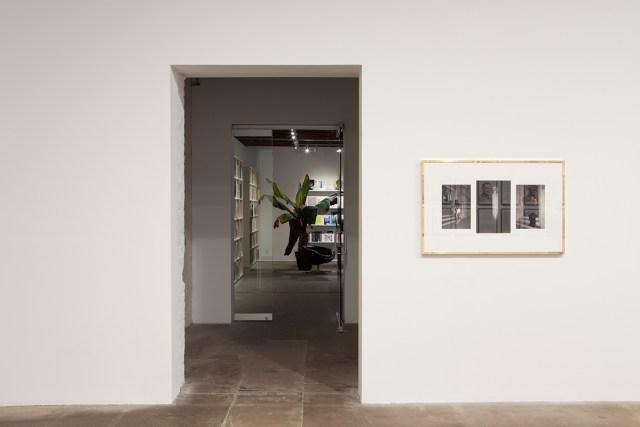 Plaisance, installation view. Sven Augustijnen, Les Demoiselles de Bruxelles, 2008. Courtesy Musee d'Ixelles, Brussels.