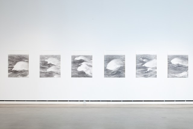 Un Voyage en Mer Du Nord (A Voyage on the North Sea), 2007. 6 b&w photographs, silver gelatin prints. 41 x 31 ½ inches each.