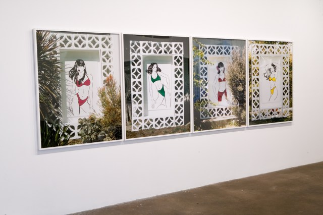 Untitled, 2007. Chromogenic prints. Each 50 inches x 40 inches.