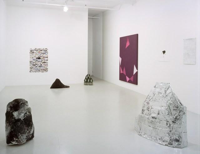 Jessica Jackson Hutchins & Kim Fisher, installation view.