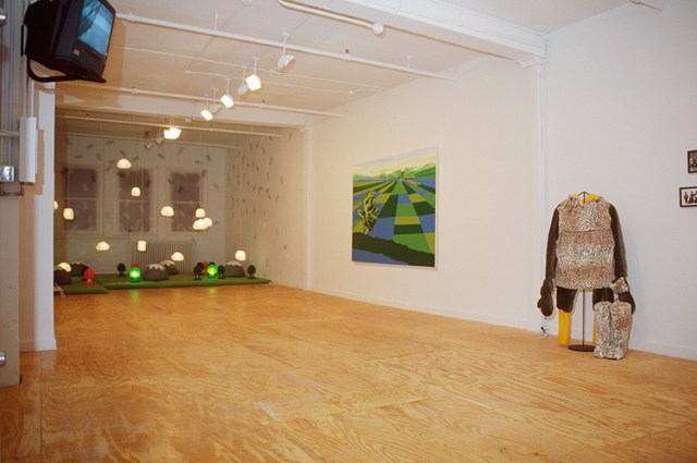 On Location, installation view.