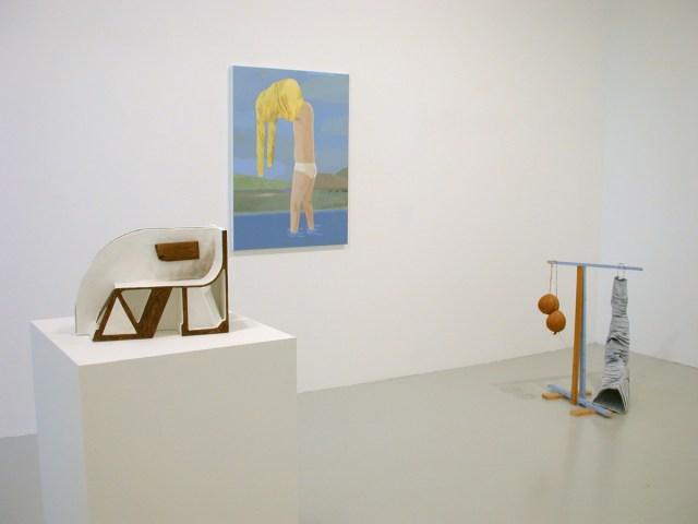 ISHTAR, installation view. Left to right: Vincent Fectau, Brian Calvin, Samara Caughey.