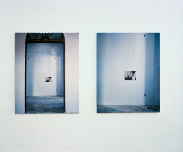"Jennifer Ramsey, Before ""Sunnyday"" Exhibition, Calle de Fortaleza, Puerto Rico, 2000. C-print."