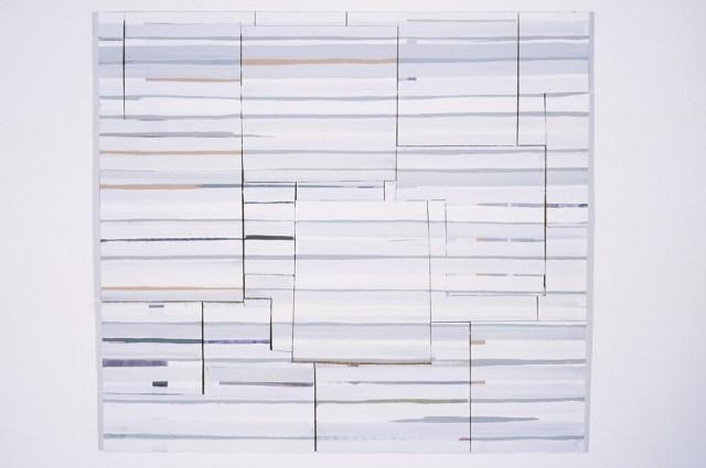Lecia Dole-Recio, Untitled, 2003. Paint, cardboard.