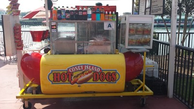 Willydog hot dog cart 2
