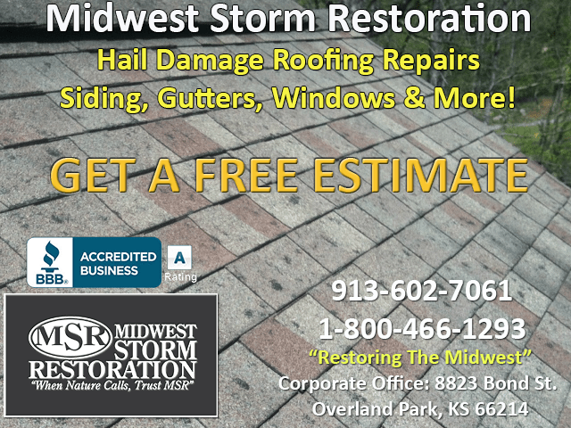 Roof Hail Damage Repair Kansas City