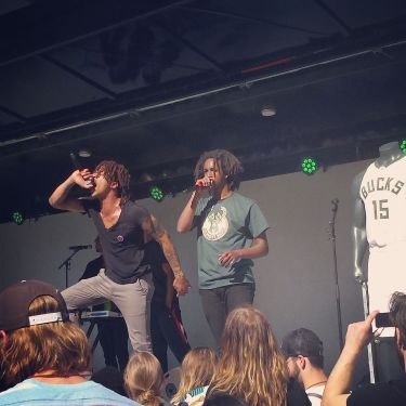 WebsterX and Lord3 Fred33 at the Bucks Block Party