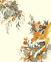 """Fox in Foliage"" by Teagan White."