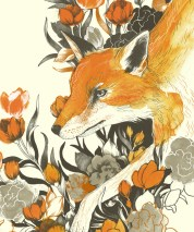 """Fox in Foliage"" (detail) by Teagan White."