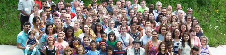 Group of people at Indiana Bahá'í Summer School
