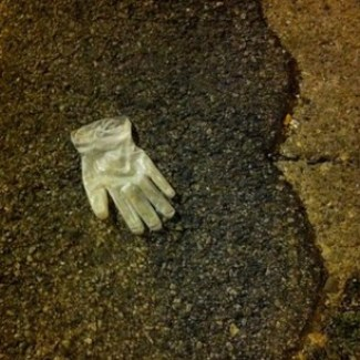 disposable rubber glove