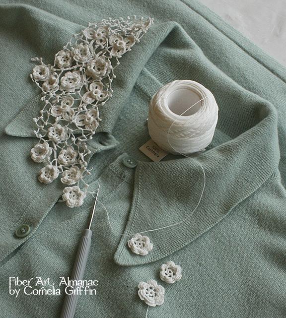 Cornelia Griffin; crocheter, knitter, shop owner