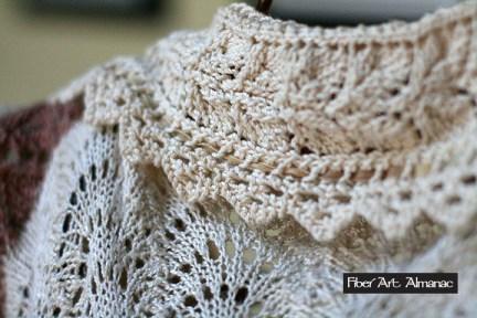 Vintage Style Lace Knit Jacket Midwest Fiber Arts Trails