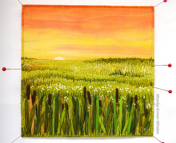 Cattails at Sunset Monika Kinner-Whalen