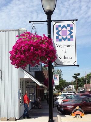 downtown Kalona