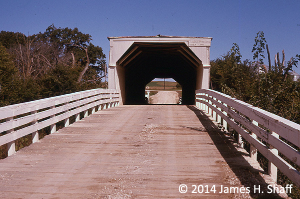 Dad's Midwest photos: Bridges of Madison County, Iowa