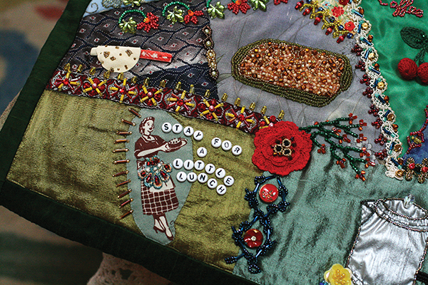 Crazy Quilt Exhibit at Minnetonka Center for the Arts