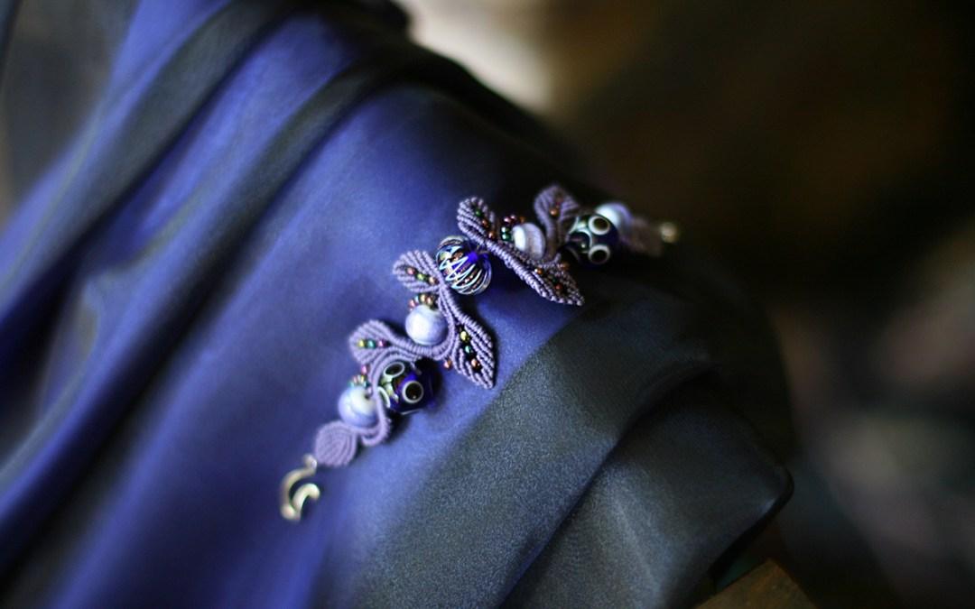 A bracelet made for a dress