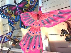 Hand painted kites!