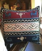 Balinese pillow.