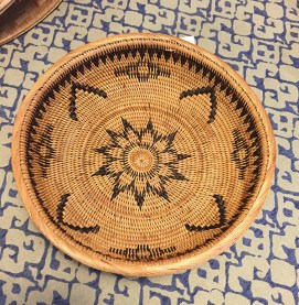 Double woven Balinese bowl.