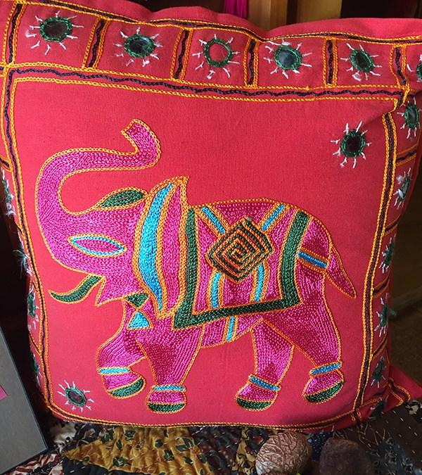 Kim Hammer's shop is a gem of multi-cultural textiles!